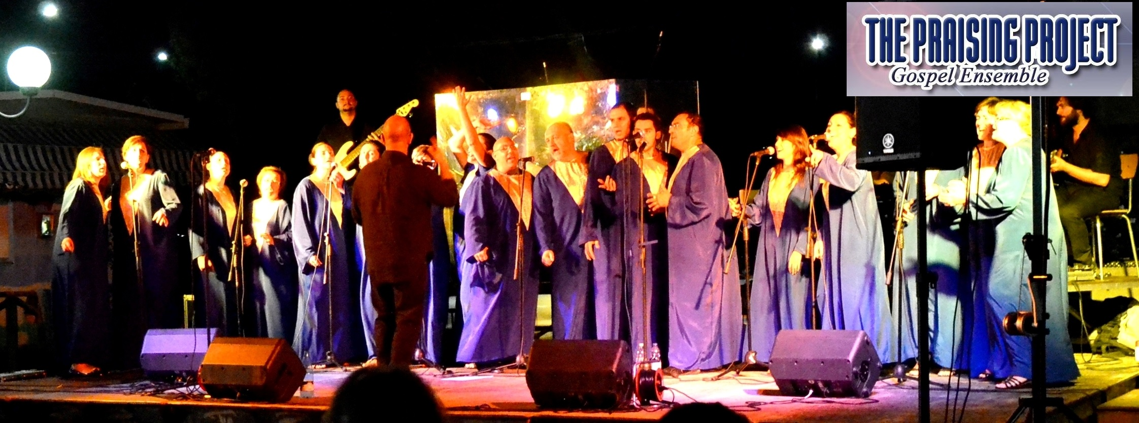 THE PRAISING PROJECT GOSPEL ENSEMBLE
